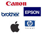 Compatible Printer Ink for these Brands